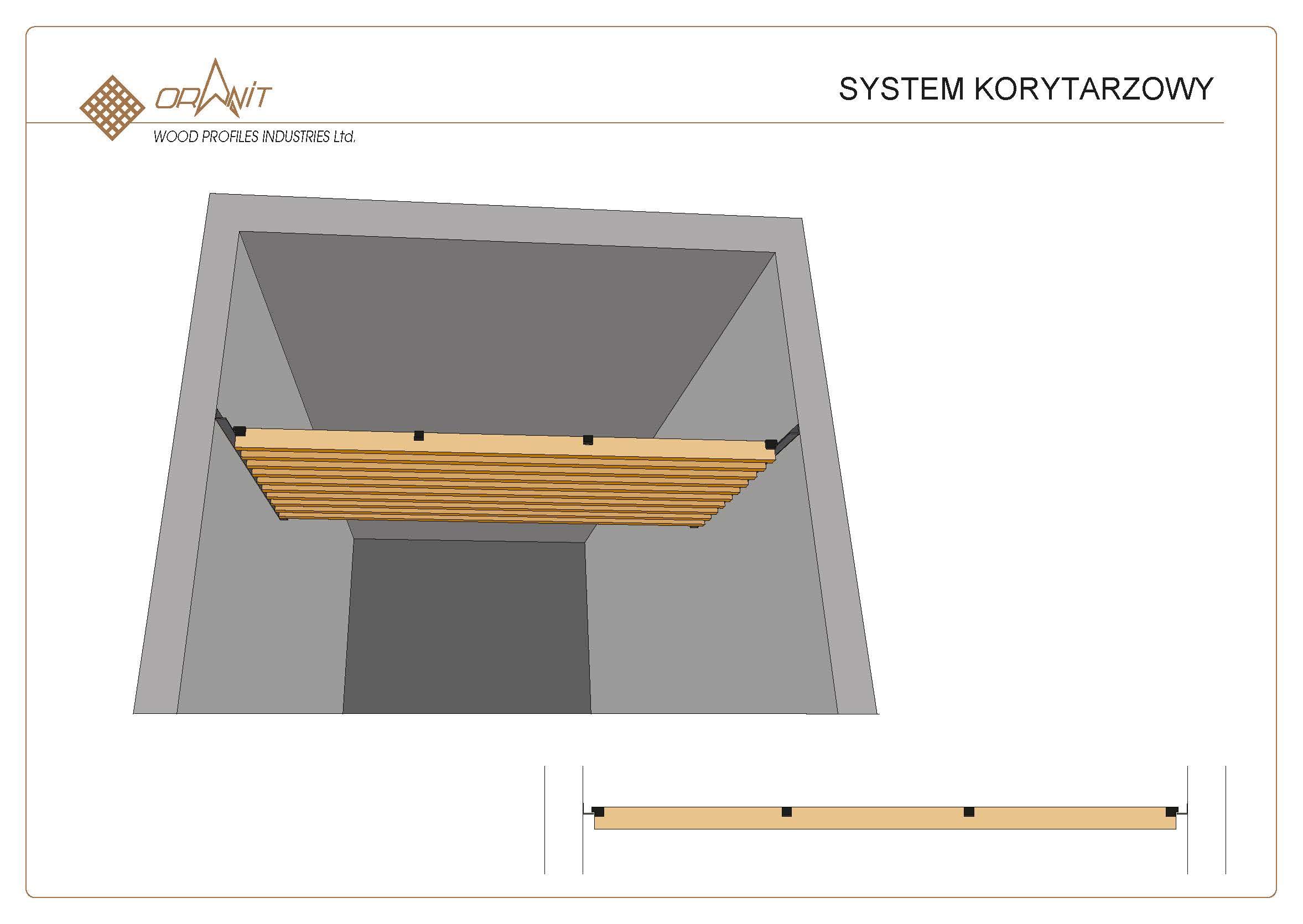 Montaz systemu sufitowego